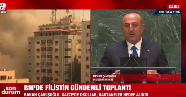 Bakan Çavuşoğlu: Batı Şeria ve Gazze'de yaşananların tek sorumlusu İsrail'dir