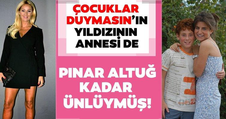 Çocuklar Duymasın'ın Duygu'su Ayşecan Tatari'nin annesi de çok ünlüymüş! İşte ünlülerin şaşırtan akrabalıkları...