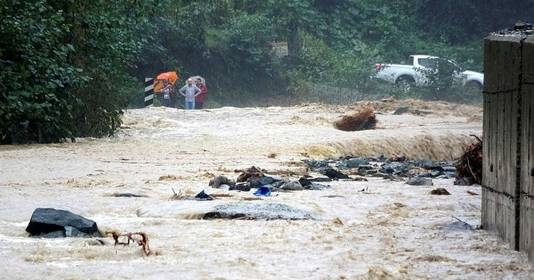 Meteorolojiden Rize için şiddetli yağış uyarısı