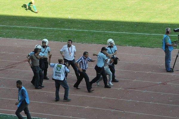 Şanlıurfaspor-1461 Trabzon maçı tatil edildi