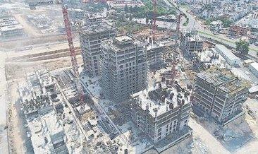 Sur Yapı, Antalya projesinin % 50'sini tamamladı