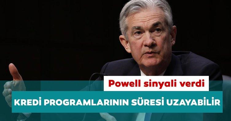 Fed Başkanı Powell acil durum kredi programlarının süresinin uzatılacağı sinyali verdi