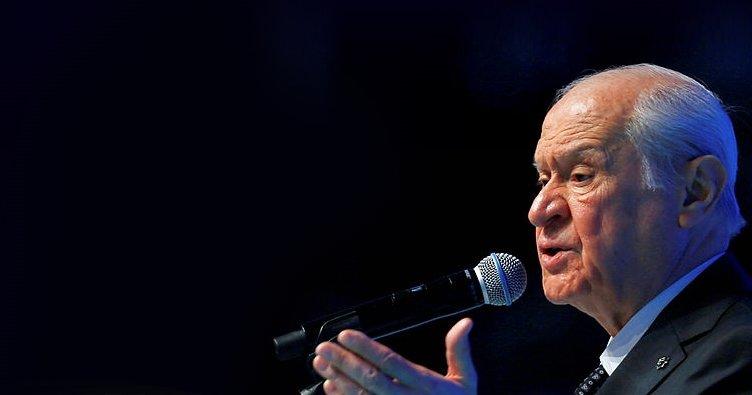 MHP Genel Başkanı Bahçeli'den son dakika açıklaması: Kirli bir tezgah kurdular...