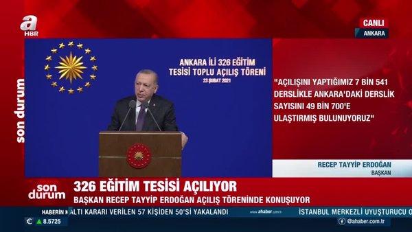 SON DAKİKA: Cumhurbaşkanı Erdoğan'dan 20 bin öğretmen ataması müjdesi! | Video