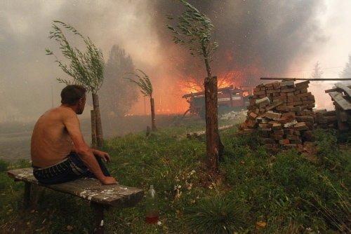 Rusya yangının pençesinde
