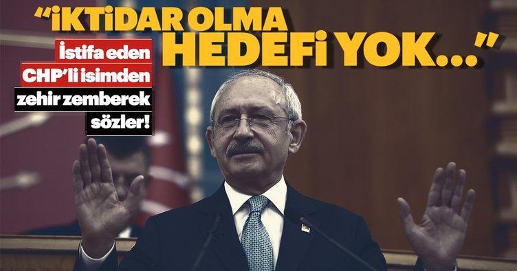 CHP'li belediye meclis üyesi partiden istifa etti