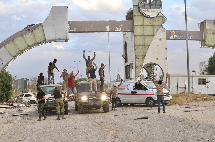Son dakika haberi: Libya'da Başkent Trablus'ta kontrolü tamamen sağladı! Libya Ordusundan sahada büyük başarı...