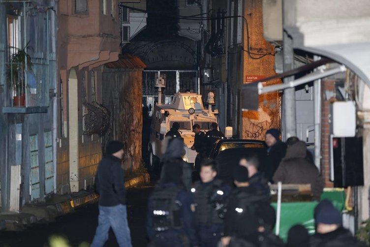 Beyoğlu'nda HDP binasına operasyon