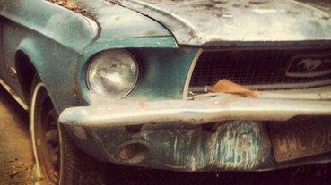 Hurda Ford Mustang'in muhteşem değişimi! Son halini görenler inanamadı