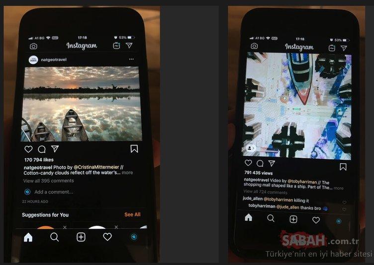 Instagram karanlık mod nasıl yapılır? İnstagram karanlık mod dark mode iOS ve Android için nereden açılır?
