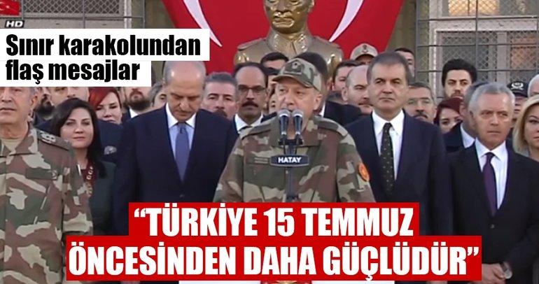 Cumhurbaşkanı Erdoğan: Bugün Türkiye 15 Temmuz öncesinden daha güçlüdür