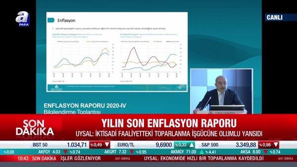 4. enflasyon raporu sunumu gerçekleşti! TCMB Uysal: Para politikasında sıkı duruş sürecek