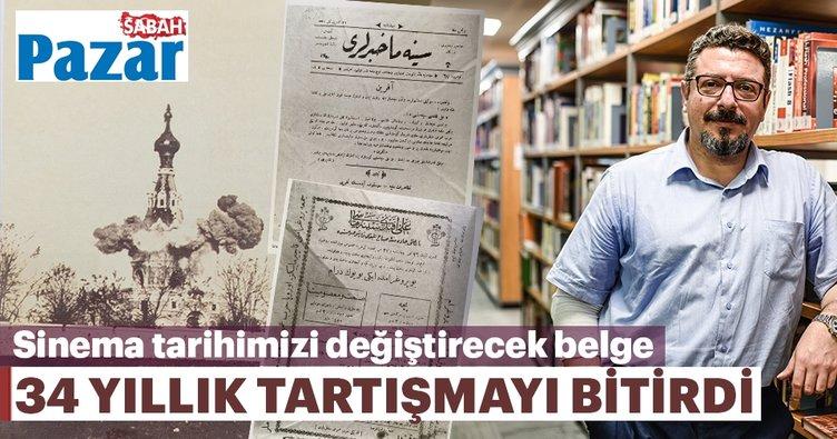 Türk sinema tarihi değiştirecek belge bulundu | Ayastefanos filmi çekilmiş ve gösterilmiş, ama...