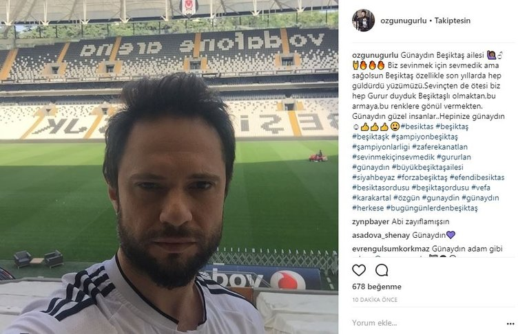 Ünlülerin Instagram paylaşımları (14.09.2017)