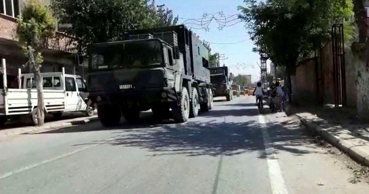 İdlib sınırına topçu bataryası sevkıyatı yapıldı