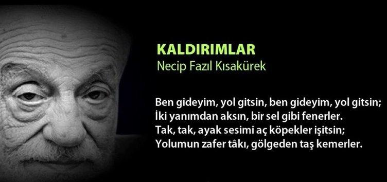 Türk edebiyatının üstadı ve bir dava adamı: Necip Fazıl Kısakürek