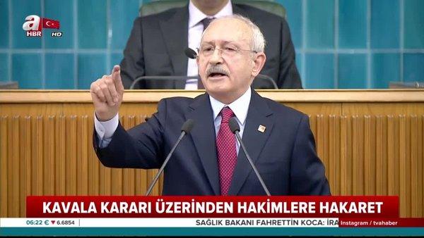Kemal Kılıçdaroğlu'nun hakimlere ve savcılara skandal hakaretine tepkiler büyüyor | Video