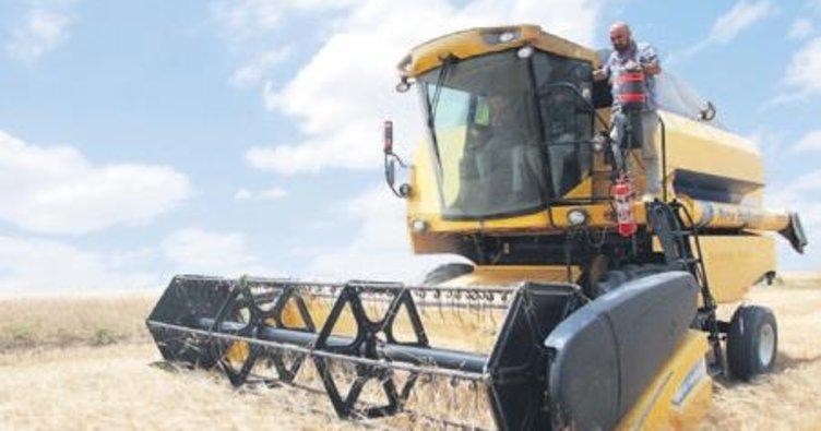 Balâ'da hasat başladı, çiftçi hububat veriminden memnun