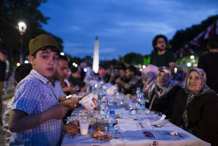İlk iftar heyecanı