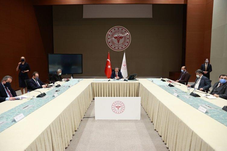 Son dakika   Kabine toplantısı öncesinde Sağlık Bakanı Fahrettin Koca'dan önemli açıklama: 66 milyon insanımız...