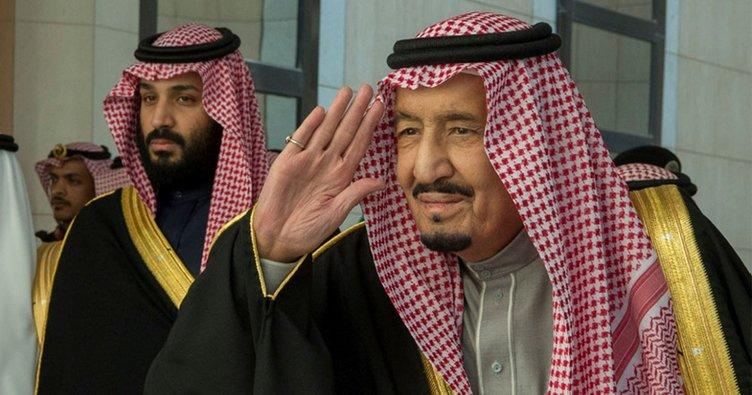 Kral Selman ile BM Genel Sekreteri dünya barışını görüştü