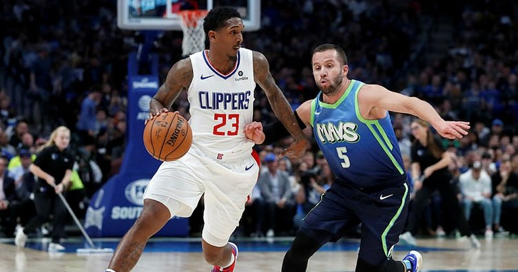 Dallas Mavericks'in galibiyet serisini Los Angeles Clippers sona erdirdi