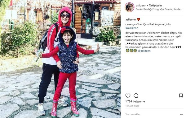 Ünlülerin Instagram paylaşımları (05.03.2018)