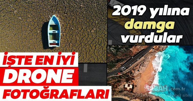 2019 yılına damga vuran drone fotoğrafları