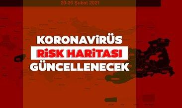 Koronavirüs risk haritası ile düşük, orta, yüksek ve çok yüksek riskli iller hangileri?
