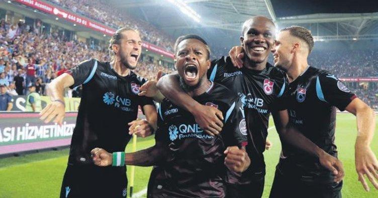 Trabzonspor 3'te 3 peşinde