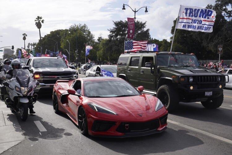Son dakika! ABD alarma geçti! Korkulan oldu! Trump kaybedince sokağa indiler...