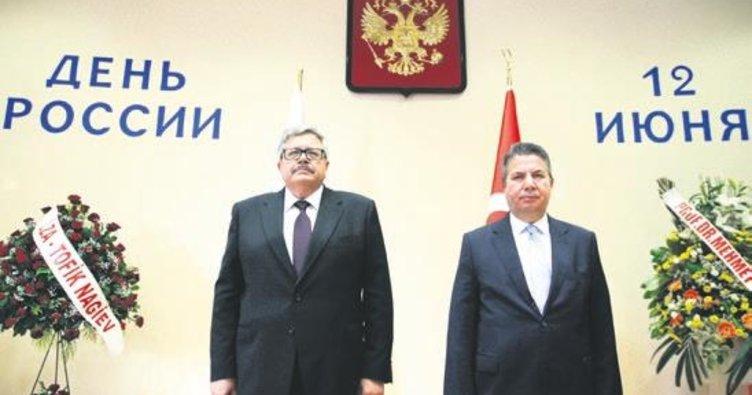 Başkentte 'Rusya Günü' resepsiyonu
