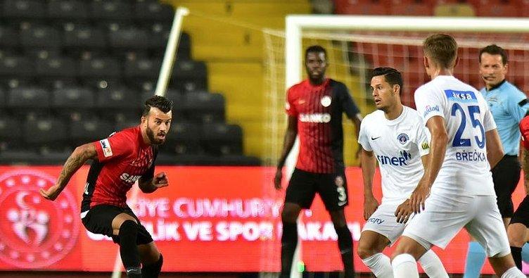 Gaziantep FK 2-2 Kasımpaşa   MAÇ SONUCU