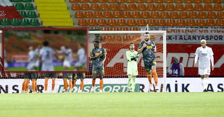 İşte Alanyaspor'un Beşiktaş maçında penaltı kazandığı pozisyon!