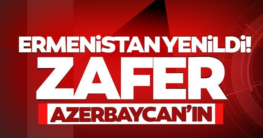 SON DAKİKA HABERİ   Karabağ'da savaş bitti! Zafer Azerbaycan'ın... İşte son durum
