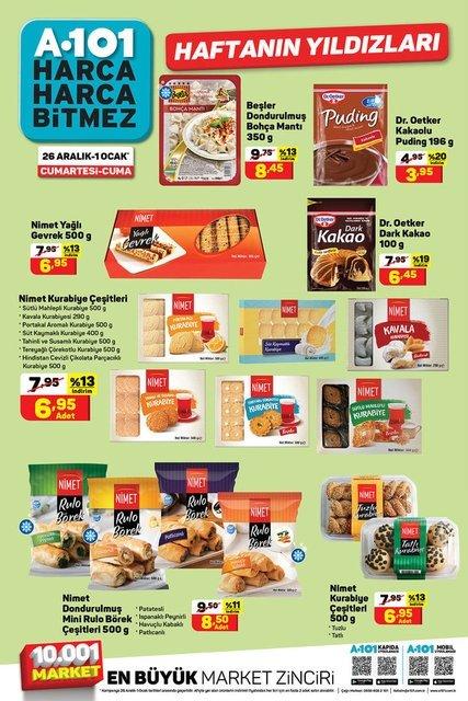 A101 26 Aralık 1 Ocak aktüel ürünler kataloğu yayınlandı! A101 aktüel ürünler kataloğunda bu hafta neler var?