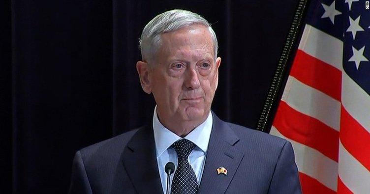ABD Savunma Bakanı Mattis'ten flaş Türkiye açıklaması!