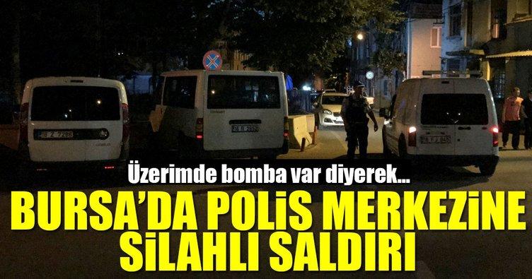 Bursa'da polis merkezine silahlı saldırı