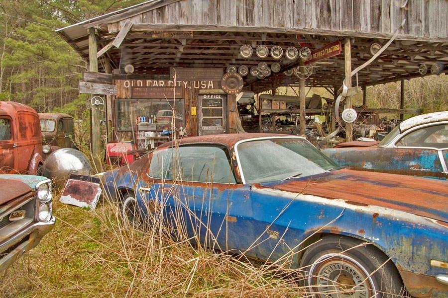 Ormandaki Araba Mezarlığının Sırrı Galeri Otomobil 30 Nisan