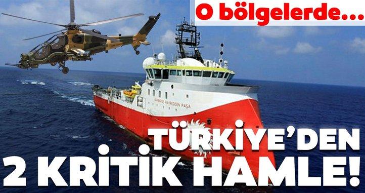 Türkiye o bölgelerde harekete geçti!  2 kritik hamle...