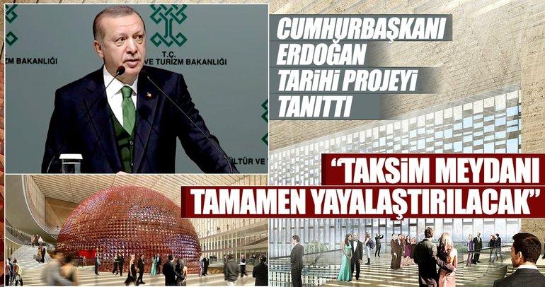 Son dakika: Cumhurbaşkanı Erdoğan, Yeni AKM binasını tanıttı