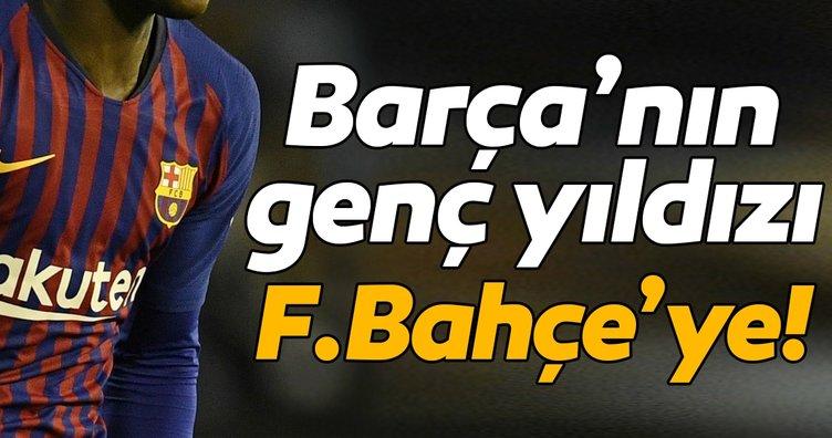 Barcelona'nın genç yıldızı Moussa Wague Fenerbahçe'ye!