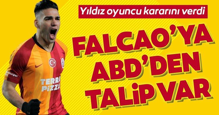 Radamel Falcao'ya ABD'den talip var! Yıldız oyuncu kararını verdi