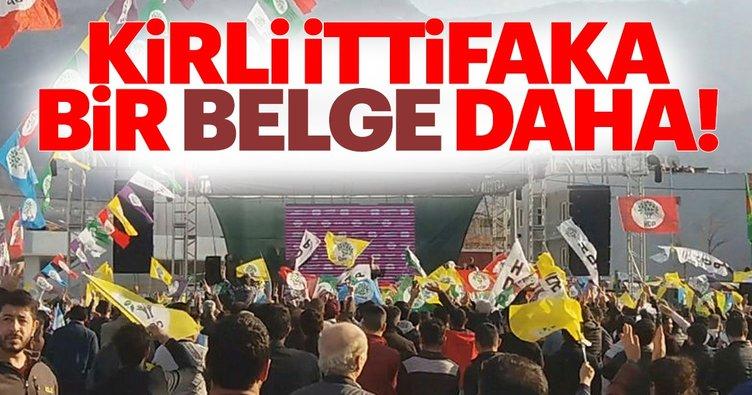 CHP-HDP ittifakı Bursa'da da ortaya çıktı