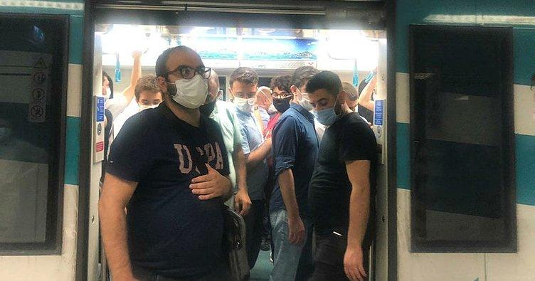 Marmaray'a, metroya binen Bilim Kurulu Üyesi Prof. Dr. Öztürk, gözlemlerini DHA'ya anlattı