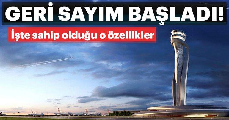 İstanbul Yeni Havalimanı için geri sayım! Bizi neler bekliyor?