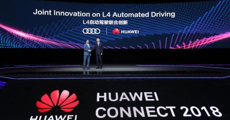 Audi ve Huawei güçlerini birleştirdi