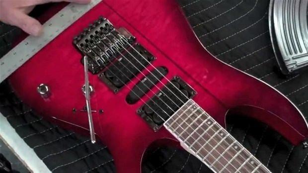 Gitardan yaptığına bakın!
