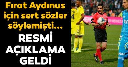 Denizlispor Kulübü Başkanı Ali Çetin, PFDK'ye sevk edildi