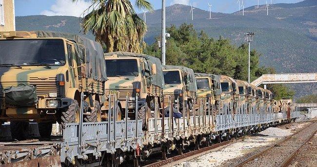 Gaziantep'teki Hava Savunma Bataryası Adana'ya sevk edildi